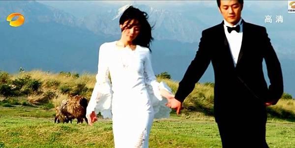當年超夢幻的婚照