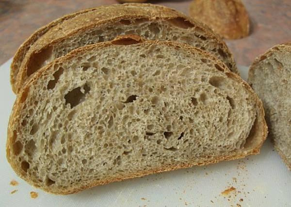 裸麥酸麵包20081115-2