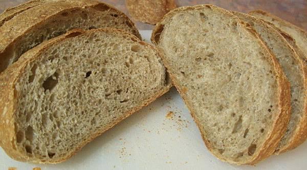 裸麥酸麵包20081115-3