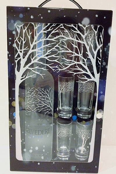 雪樹禮盒贈六個shot杯