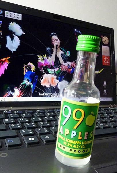 香港機場免稅店買的蘋果酒