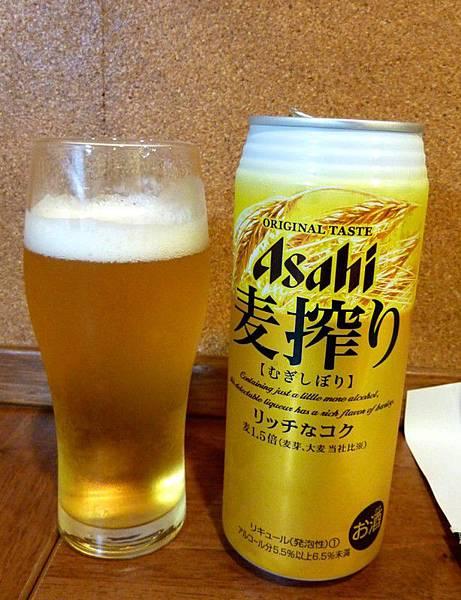 20100724-Asahi麥搾生啤酒