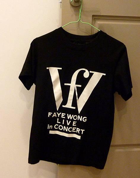 2011年王菲巡唱-T恤