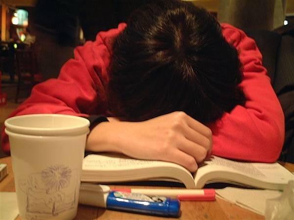 讀中國思想史結果睡著