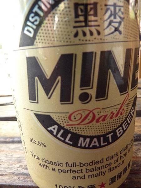 台啤MINE系列也出黑啤