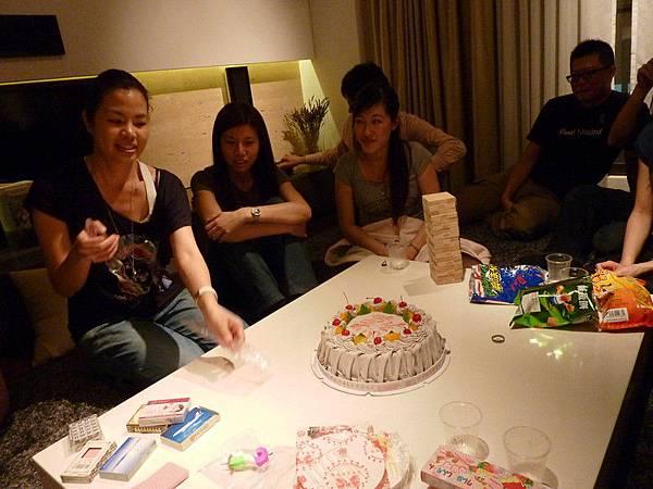 壽星來切蛋糕