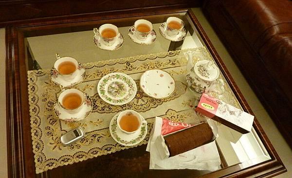 喝茶就要配甜點