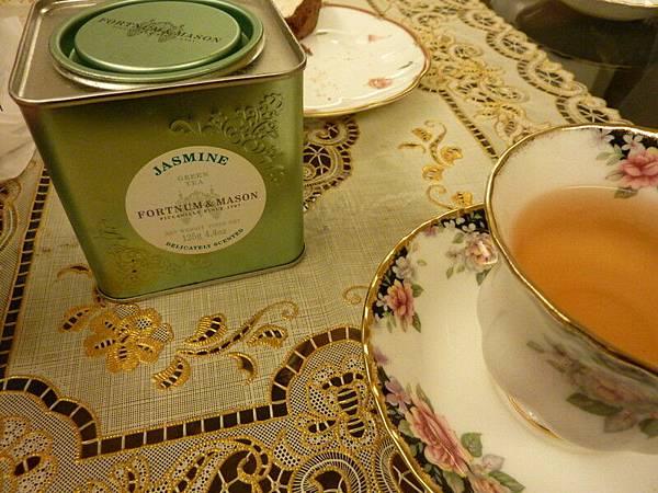 今天喝茉莉花茶