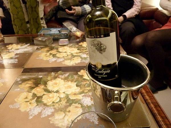林大痞帶來的紅酒