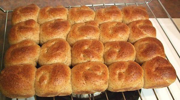 葡萄種天然酵母-全麥小麵包09