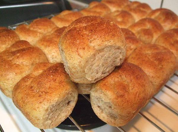 葡萄種天然酵母-全麥小麵包12