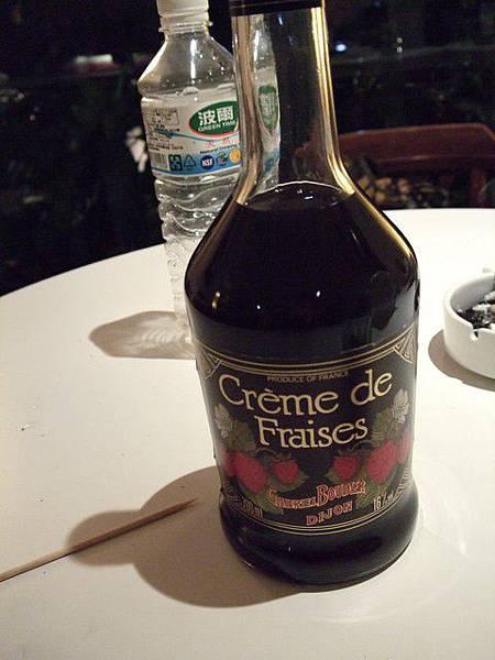 很甜很甜的水果酒