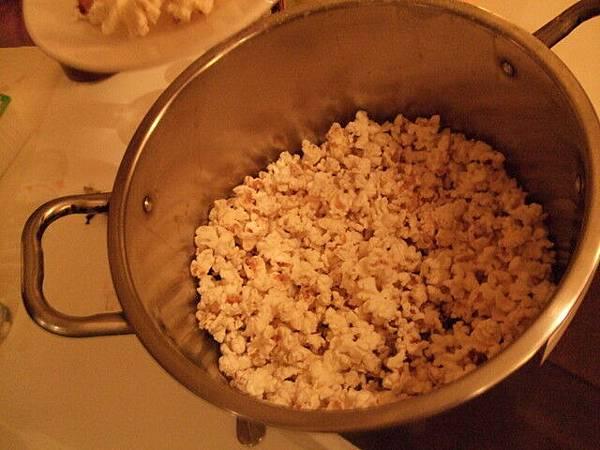 鹹酥雞口味的爆米花