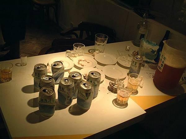 沒想到北台灣啤酒一下就被喝光