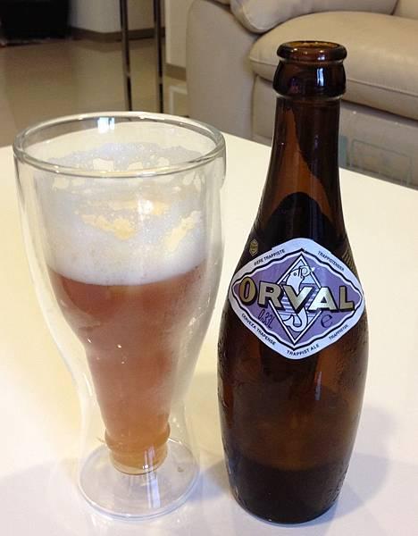 比利時ORVAL歐瓦樂修道院啤酒 alc.6.2%