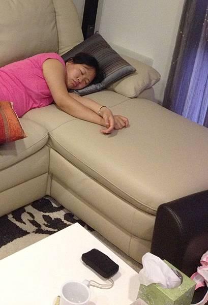 奇妙的孕婦體質 吃飽馬上睡...