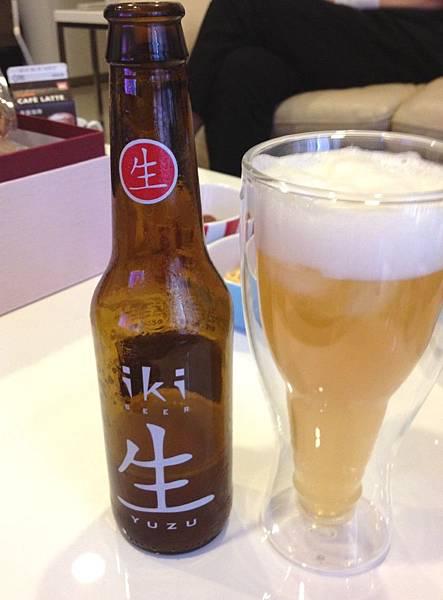 """iki """"生"""" 綠茶柚香啤酒 alc.4.5%  原產地:荷蘭"""