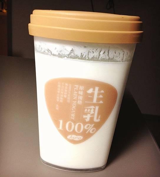 揚格100%生乳原味優格