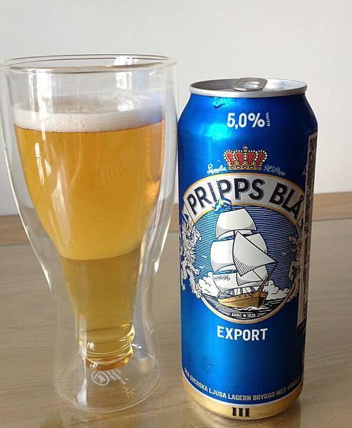 普斯藍Export啤酒 alc.5%