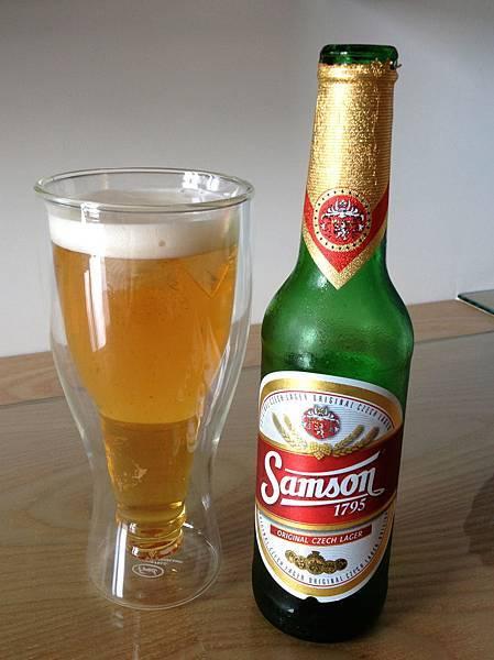 捷克山森1795啤酒 alc.4.7%