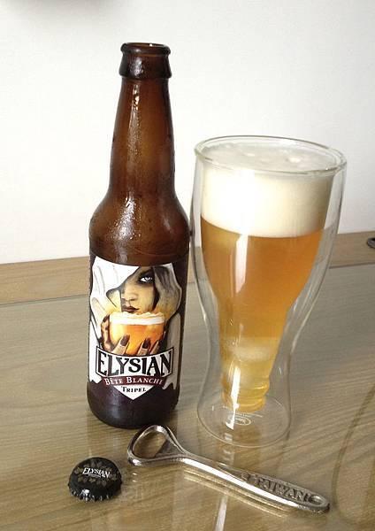 西雅圖Elysian Bete Blanche Triple 白魔女三麥金啤酒 alc.7.5%