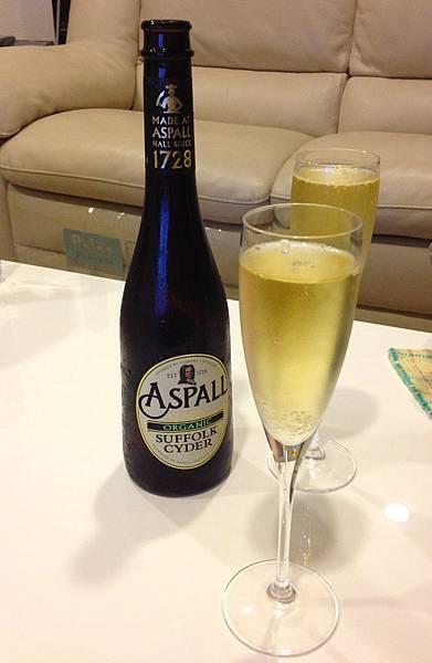 英國雅詩沛有機蘋果氣泡酒 alc.7% Aspall Organic Suffolk Cyder