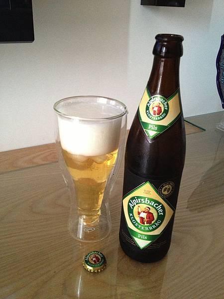 阿啤士巴赫啤酒 alc.4.9% Alpirsbacher Pils