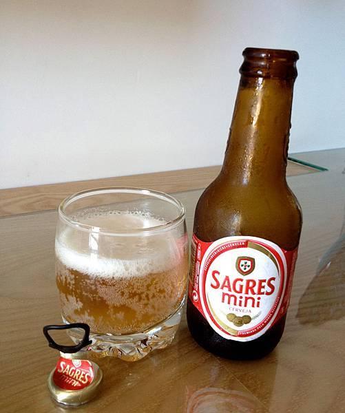 葡萄牙薩格雷斯啤酒mini版 alc.5%