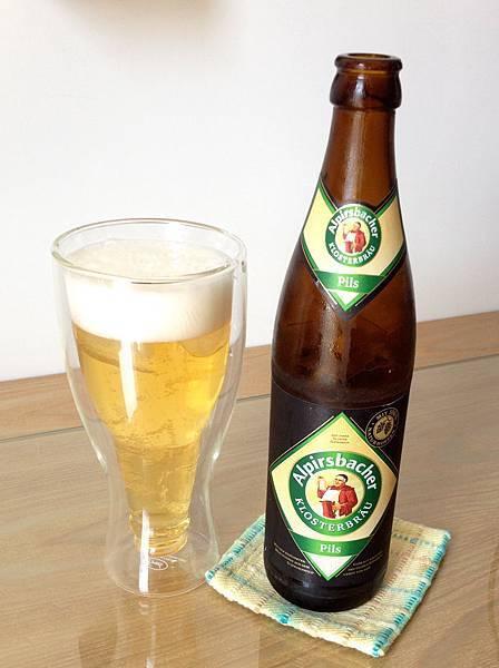 德國阿啤士巴赫啤酒-小麥 alc.4.9% 500ml