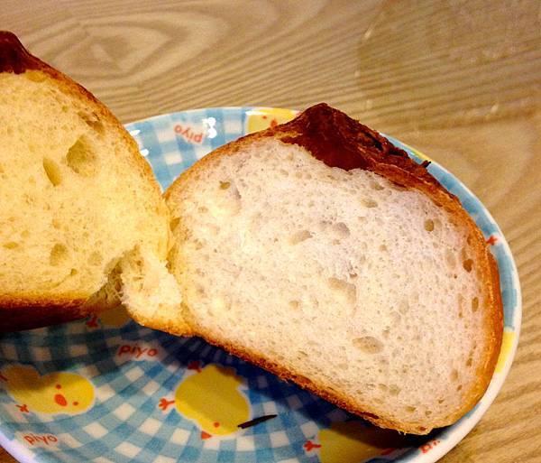 義式香料麵包-圓型切面