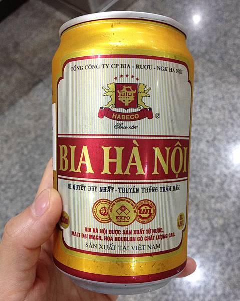 越南河內啤酒 alc.4.6