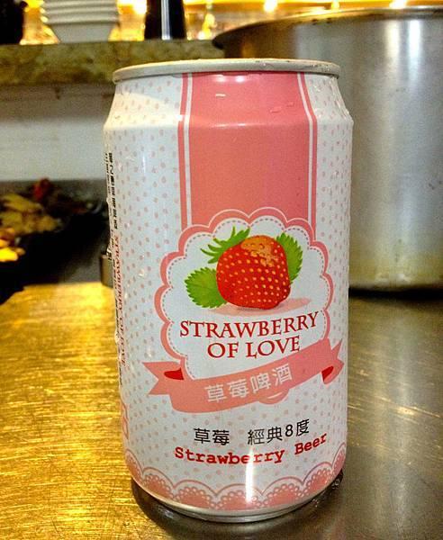 大湖莓之戀草莓啤酒 經典8度alc.8%