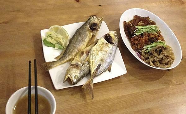 每天都有海鮮吃