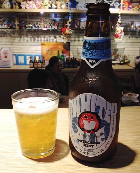 日本常陸野貓頭鷹小麥柑橘啤酒alc.5.5%