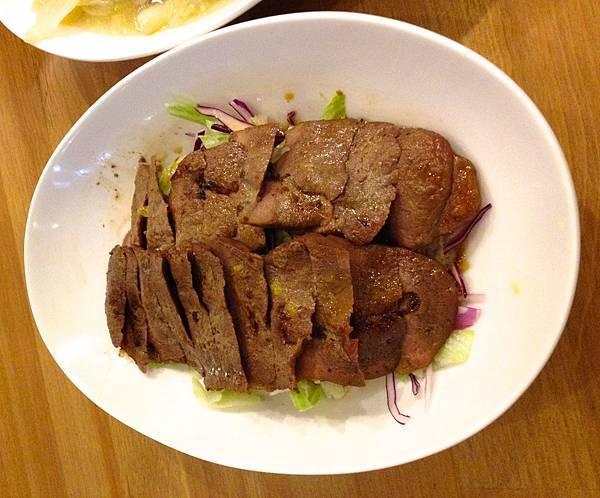 烤沙朗牛排沙拉