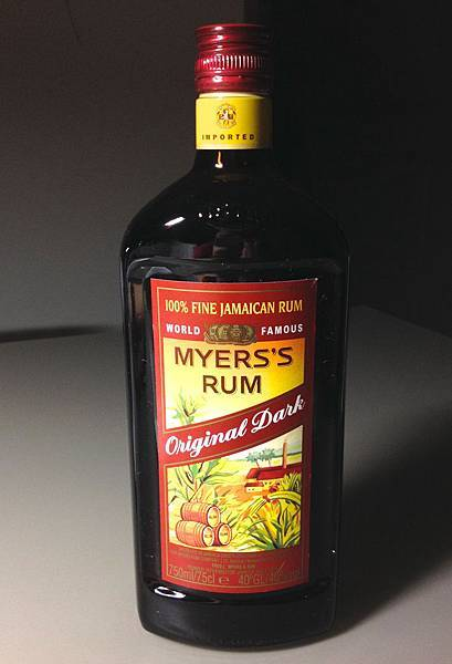 麥斯蘭姆酒 Myers's Rum alc.40% 產地:牙買加