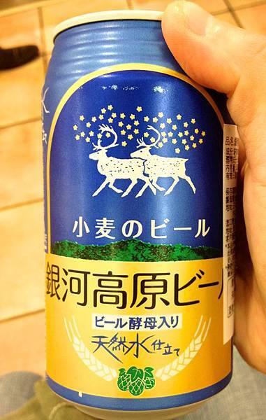 日本岩手縣銀河高原小麥啤酒 alc.5%