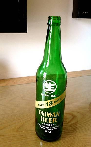 台啤18天 生啤 alc.5%