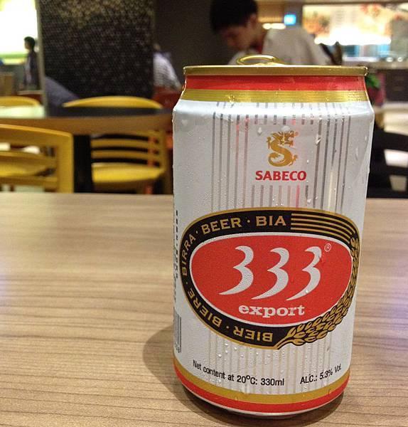 越南333啤酒 alc.5.3%