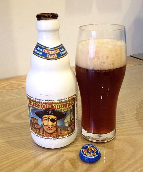 比利時海盜黑啤酒 alc.9%