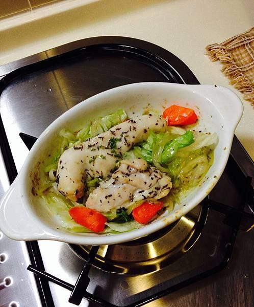 烤蔬菜雞胸肉