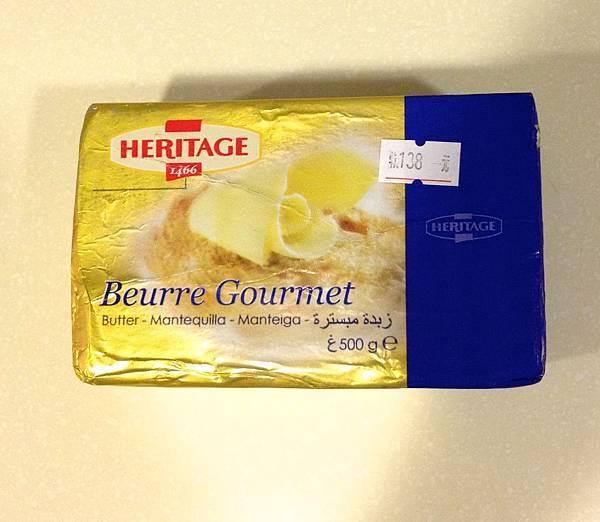 比利時無鹽發酵奶油 heritage  500g 138元