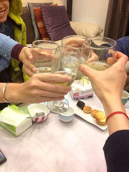 2014的第一秒 乾杯