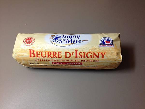 法國產區限定依思尼無鹽發酵奶油(產區諾曼地) 500g 190元(燈燦)