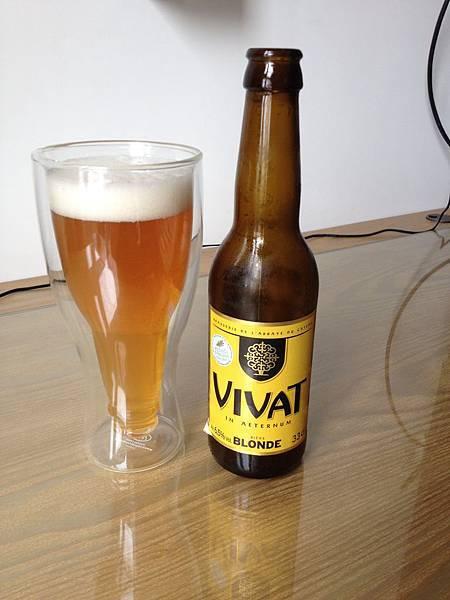 法國VIVAT金黃啤酒 alc.6.5%