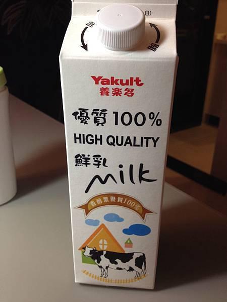 養樂多鮮乳-1