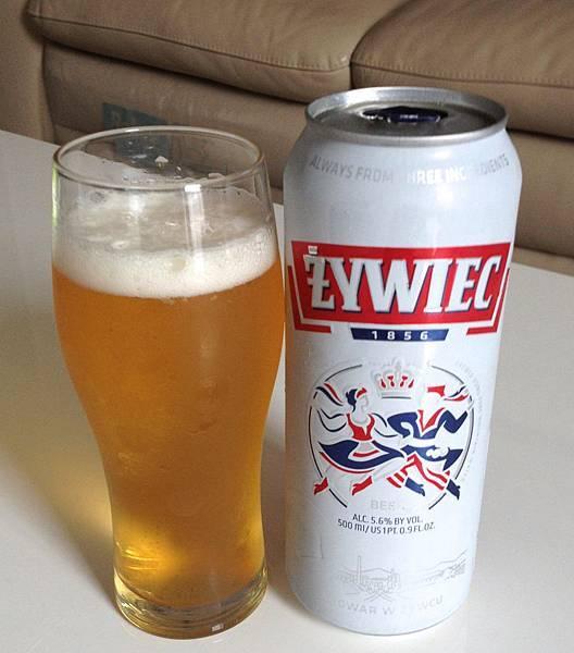 波蘭滋維克啤酒 alc.5.6%
