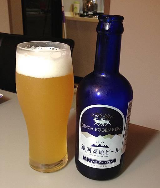 日本銀河高原小麥啤酒 alc.5%