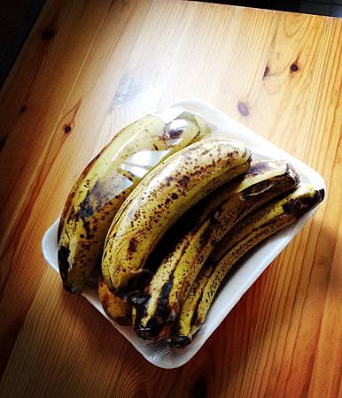 熟透的香蕉