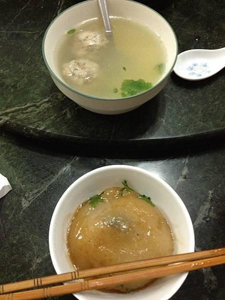 皮QQ肉圓與貢丸湯